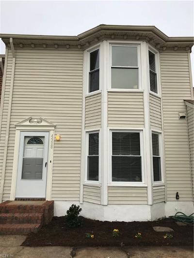 Virginia Beach Single Family Home New Listing: 4518 Renwood Ct