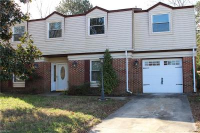 Virginia Beach Single Family Home New Listing: 4695 Hanover Ct