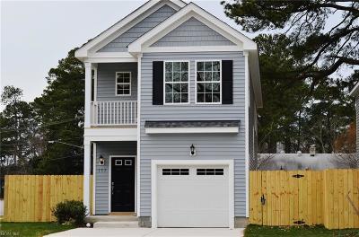 Virginia Beach Single Family Home New Listing: 137 S Thalia Rd