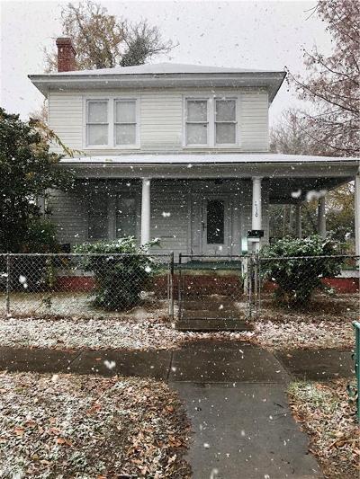 Newport News Single Family Home New Listing: 2110 Chestnut Ave