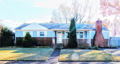 Norfolk Single Family Home New Listing: 1859 Branchwood St