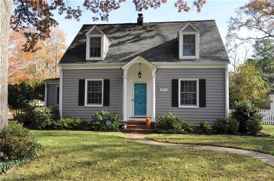 Norfolk Single Family Home New Listing: 8972 Saint George Ave