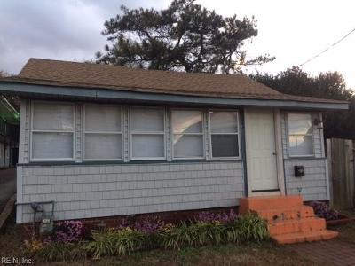 Norfolk Single Family Home New Listing: 1011 Hillside Ave