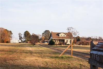 Suffolk Single Family Home New Listing: 1556 Carolina Rd