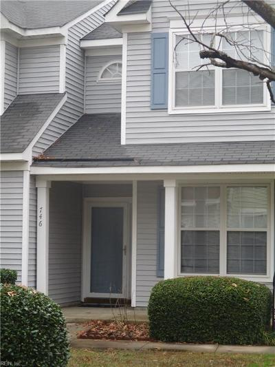 Newport News Single Family Home New Listing: 746 Windbrook Cir