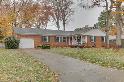 Newport News Single Family Home New Listing: 121 Kohler Cres