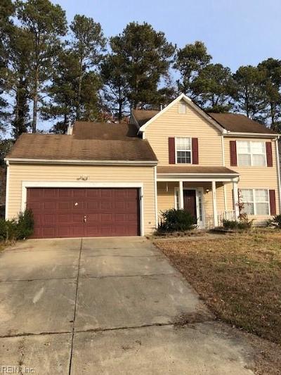Newport News Single Family Home New Listing: 844 Chapin Wood Dr