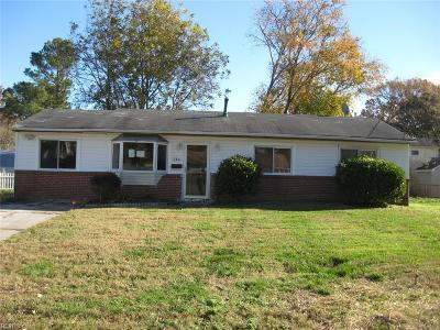 Virginia Beach Single Family Home New Listing: 224 Melinda Pl