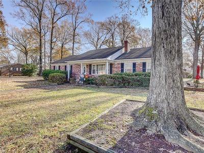Chesapeake Single Family Home New Listing: 2509 Meiggs Rd