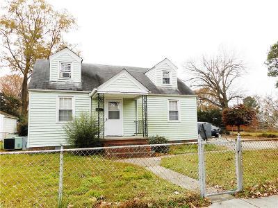 Norfolk Single Family Home New Listing: 3617 Humboldt St