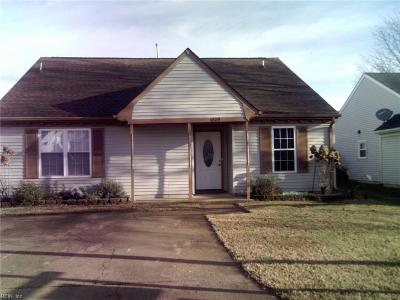 Virginia Beach Single Family Home New Listing: 1809 Gershwin Dr