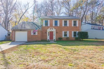 Virginia Beach VA Single Family Home New Listing: $270,000