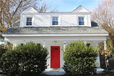 Portsmouth Single Family Home New Listing: 59 Prospect Pw