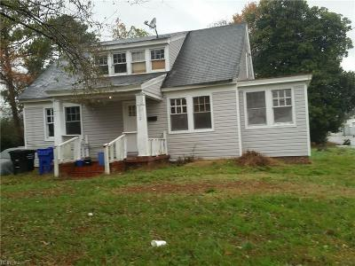 Portsmouth Single Family Home New Listing: 2012 Greenwood Dr