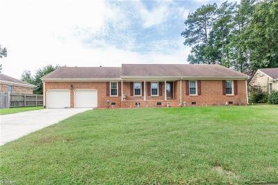Chesapeake Single Family Home New Listing: 2714 Cornet St