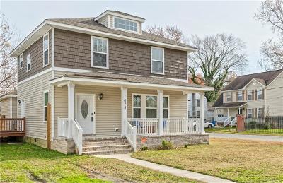 Portsmouth Single Family Home New Listing: 1625 Pulaski St