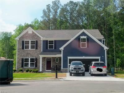Chesapeake Single Family Home Under Contract: 2108 Tall Pine Dr