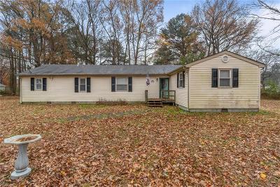 Chesapeake Single Family Home New Listing: 349 Hurdle Dr