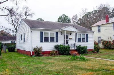 Portsmouth Single Family Home New Listing: 4015 South St