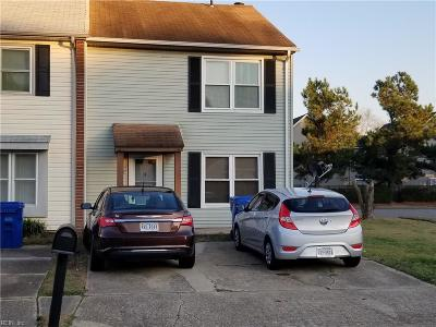 Virginia Beach Single Family Home New Listing: 400 Indian Summer Ln
