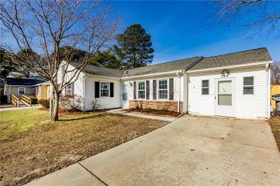 Hampton Single Family Home New Listing: 122 Fairmont Dr