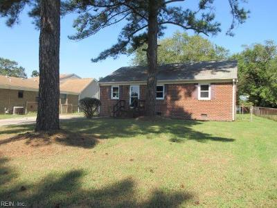 Chesapeake Single Family Home New Listing: 819 Portland St