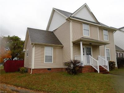 Norfolk Single Family Home New Listing: 2900 Middle Towne Cres