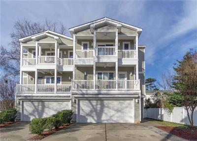 Virginia Beach VA Single Family Home New Listing: $575,000
