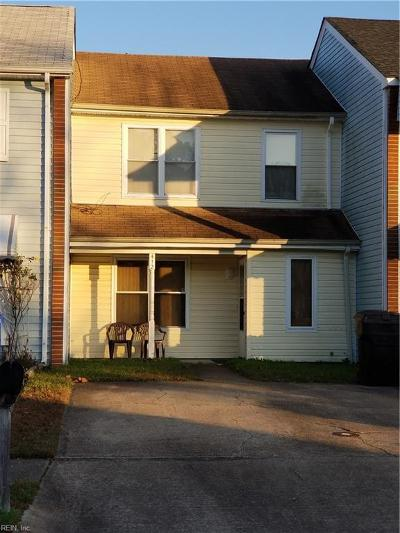 Virginia Beach Single Family Home New Listing: 412 Indian Summer Ln