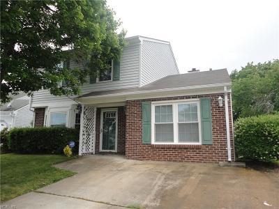 Virginia Beach Single Family Home New Listing: 2112 Manassas Rn