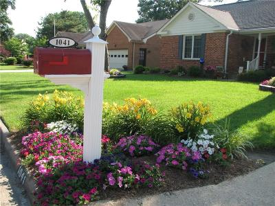 Virginia Beach Single Family Home New Listing: 1041 Yardley Lndg
