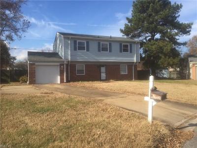 Virginia Beach Single Family Home New Listing: 1785 Rutledge Ct