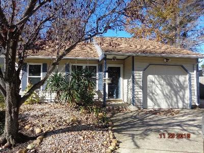 Virginia Beach Single Family Home New Listing: 1136 Snowbird Ln