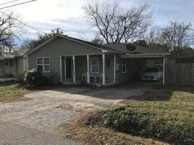Suffolk Single Family Home New Listing: 123 S 12th St