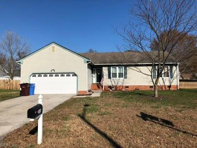 Chesapeake Single Family Home New Listing: 3408 Winterhawk Ct