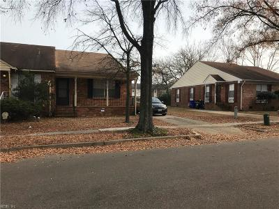 Norfolk Single Family Home New Listing: 1214 Wide St