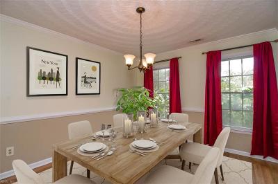 Virginia Beach Single Family Home New Listing: 1817 Saint Regis Cir
