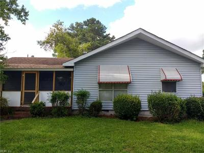 Portsmouth Single Family Home New Listing: 3800 Greenwood Dr