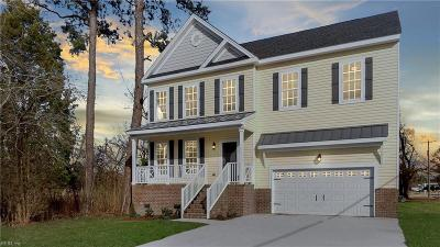 Chesapeake Single Family Home New Listing: 249 Deepwater Dr