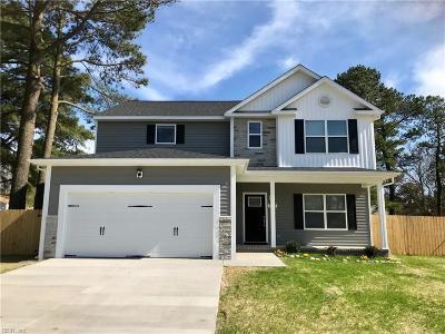 Chesapeake Single Family Home New Listing: 1408 Salton Dr