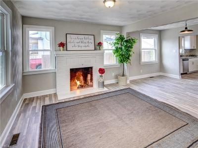 Norfolk Single Family Home New Listing: 3730 Amherst St