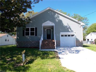 Hampton Single Family Home New Listing: 611 Allendale Dr