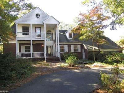 Yorktown Single Family Home New Listing: 502 Piney Point Rd