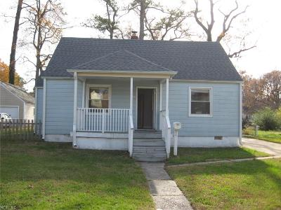Norfolk Single Family Home New Listing: 417 E Westmont Ave