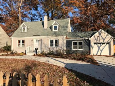 Norfolk Single Family Home New Listing: 8364 Chesapeake Blvd