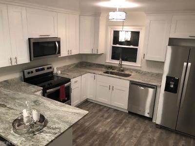 Chesapeake Single Family Home New Listing: 820 Oklahoma Dr