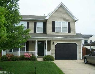 Virginia Beach Single Family Home New Listing: 3456 Pasture Ln