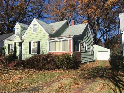 Norfolk Single Family Home New Listing: 1052 Norview Ave