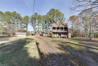 Suffolk Single Family Home New Listing: 252 N Liberty Spring Rd