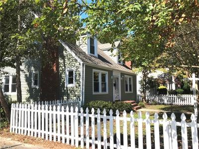 Norfolk Single Family Home New Listing: 9201 Granby St